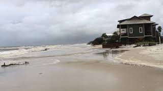 5/28/2018—Tropical Storm Alberto and Beach Erosion on Cape San Blas, FL.