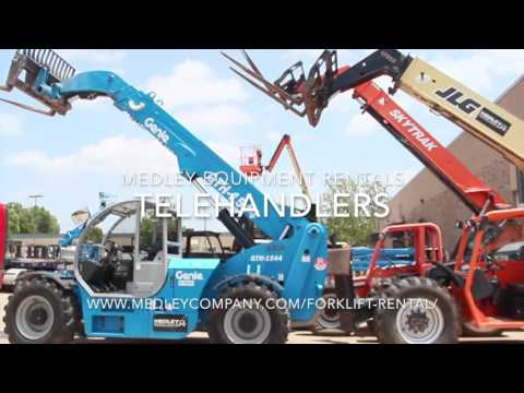 Medley Equipment Rentals | Construction Rentals Oklahoma, New Mexico & West Texas.
