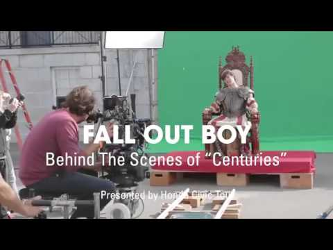 Fall Out Boy Behind The Scenes Of Centuries Music Video