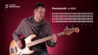 Bass lernen - 10/30  Moll-Tonleiter und Moll-Pentatonik