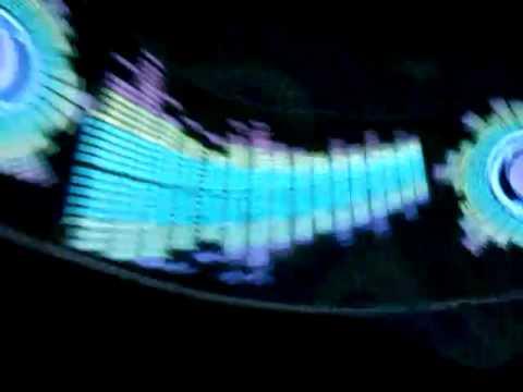 Светодиодный Эквалайзер на заднее стекло авто, анализатор спектра .