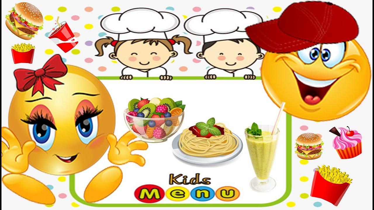 СМАКС и СМАСЯ Веселые смайлики #5 Полезная еда против вредной Развивающий МУЛЬТИК для детей