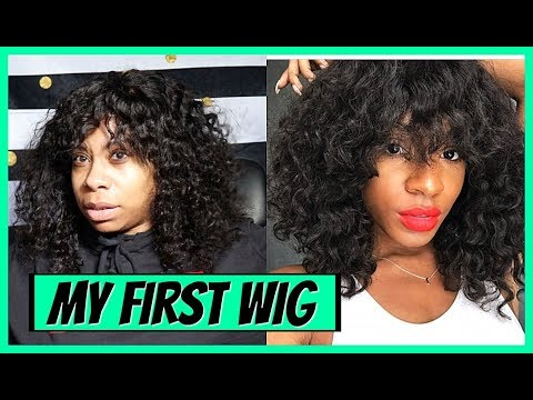 I Tried Re-creating Vicki Logan's Look   My First Wig Victoria