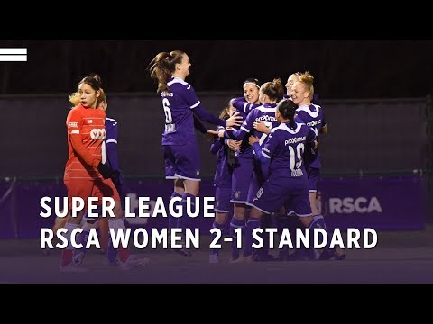 Super League: RSCA Women 2-1 Standard de Liège