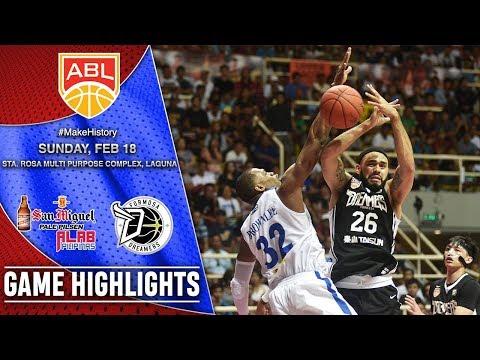 San Miguel Alab Pilipinas vs Formosa Dreamers | HIGHLIGHTS | 2017-2018 ASEAN Basketball League