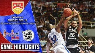 San Miguel Alab Pilipinas vs Formosa Dreamers | HIGHLIGHTS | 2017-2018 ASEAN Basketball League