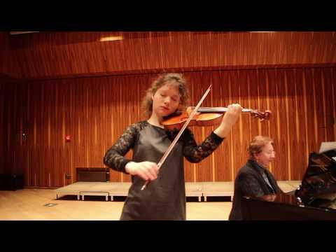 Chopin - Nocturne (Caroline Adomeit, violin)