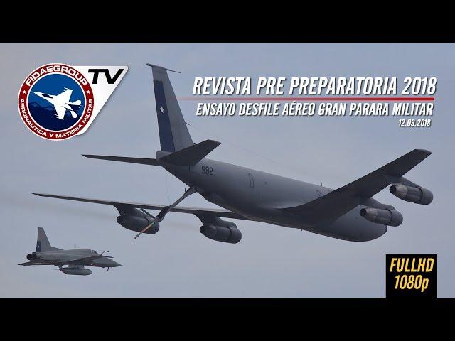 El desfile aéreo que verás el 19 de septiembre en Gran Parada Militar 2018