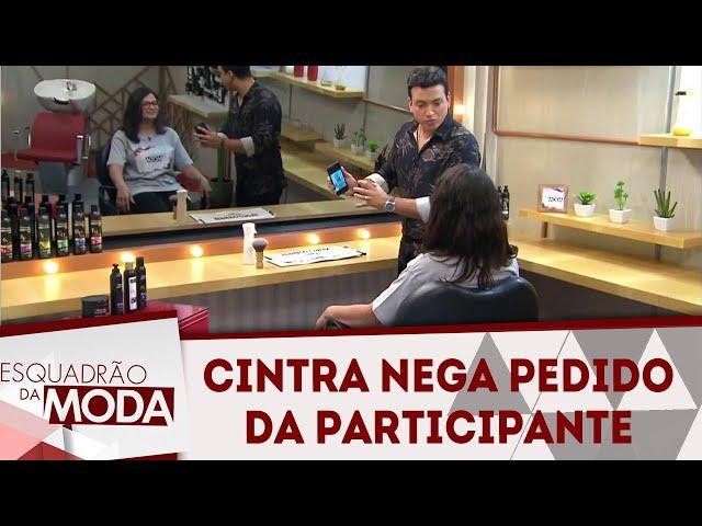 Cintra nega pedido  da participante e acerta! | Esquadrão da Moda (22/09/18)