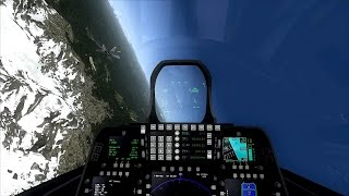 Flight Simulator X | Przelot F 22 Raptor