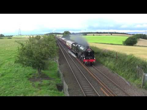 46100 Royal Scot between Plean and Larbert