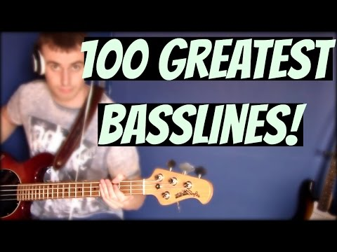 Download Youtube: 100 GREATEST BASSLINES (100th Video)
