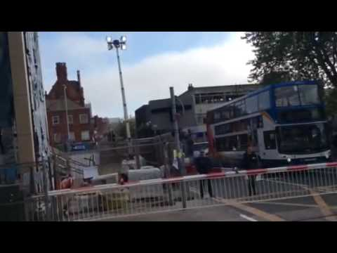 Lincoln Central Level Crossing Monday 06.06.2016