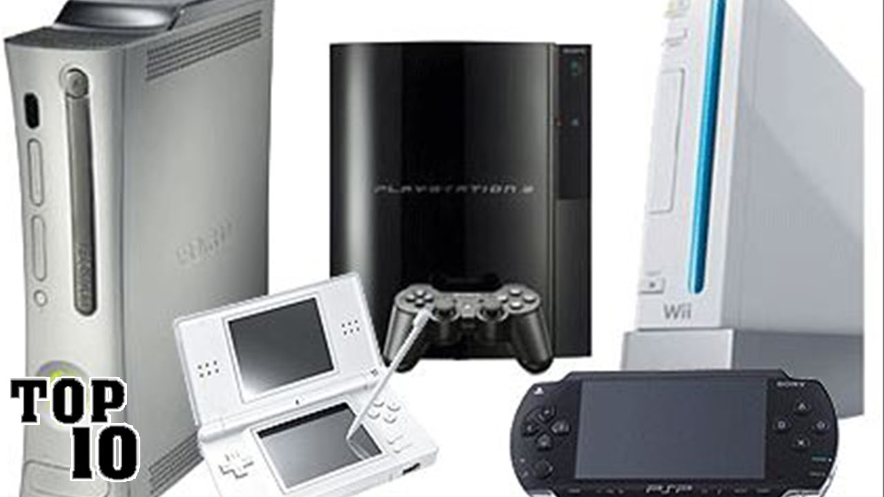Top 10 best selling gaming consoles of all time youtube - Best selling video game consoles ...