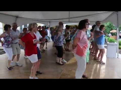 Mama Sylvia's Cha Cha,  with Too Much Sylvia Band,  video  by Ron Cassell