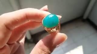 Bacan Doko Bluish Green Super Kristal HQ - D59