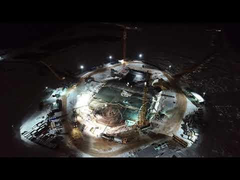 видео: Строительство главного Храма ВС РФ - 20181209