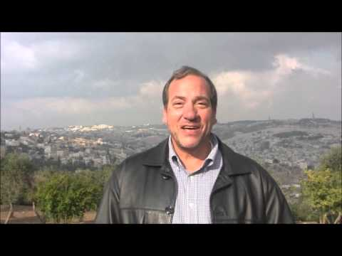 A Message from Rabbi Yechiel Eckstein about Holy Land Moments