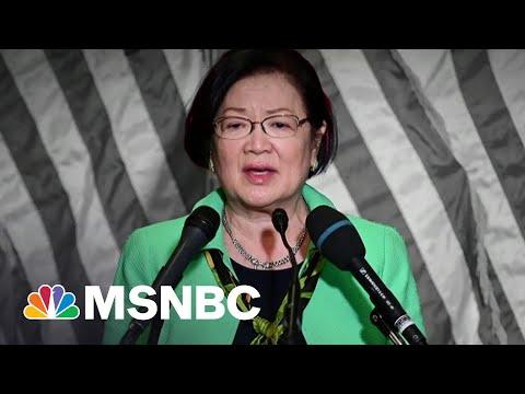 Sen. Hirono Applauds Senate Passage Of Anti-Asian Hate Bill | The 11th Hour | MSNBC