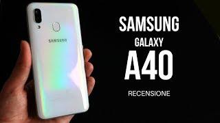 SAMSUNG GALAXY A40 recensione alcuni mesi dopo