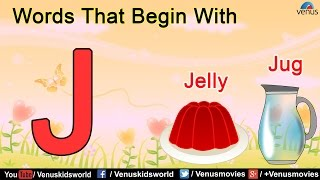 Words That Begin With 'J'