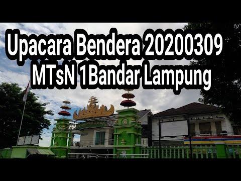 MTsN 1 Bandar Lampung, March 9, 2020