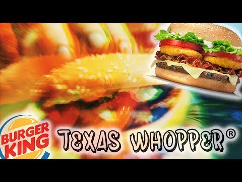 🚙 American Street Food Texas Whopper in parking lot / Burger King Netherlands