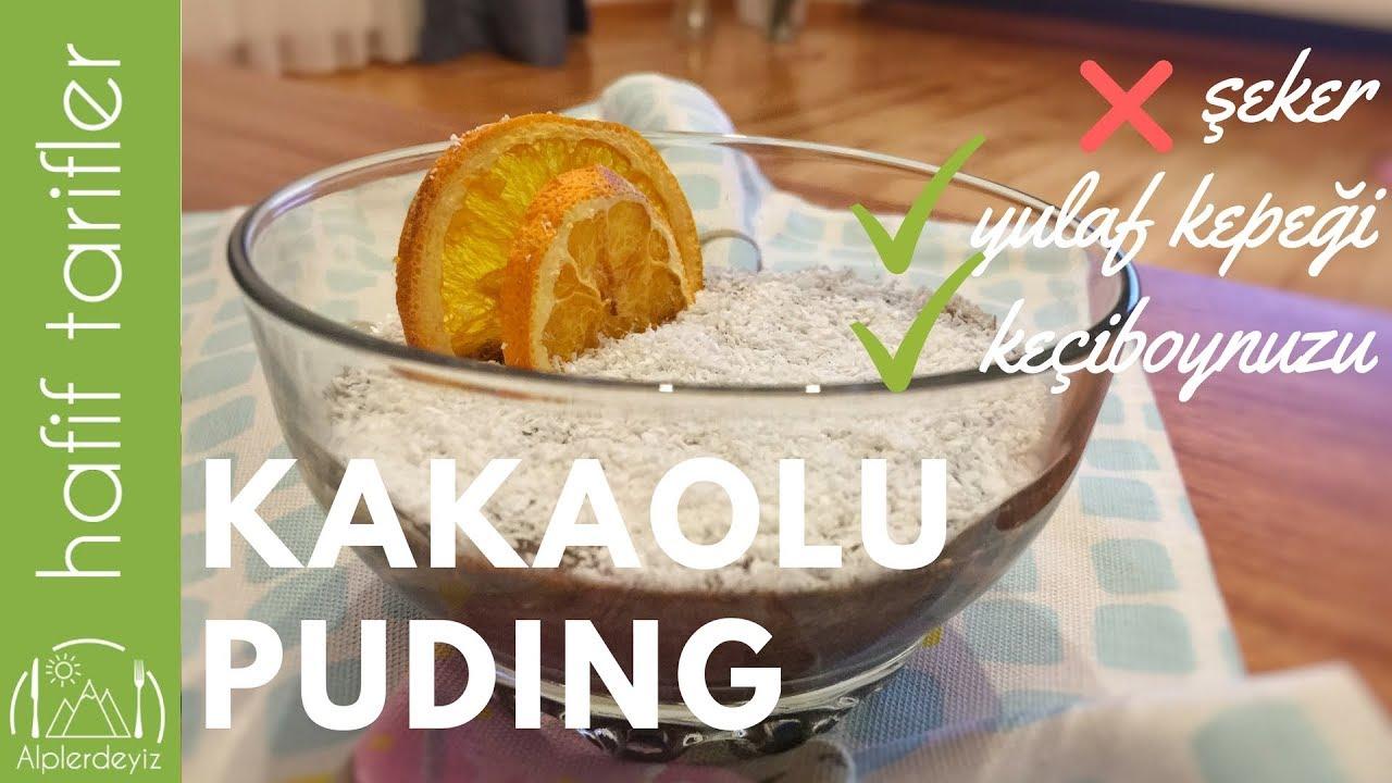 Şekersiz Yulaflı Puding Nasıl Yapılır – Yemek Tarifleri