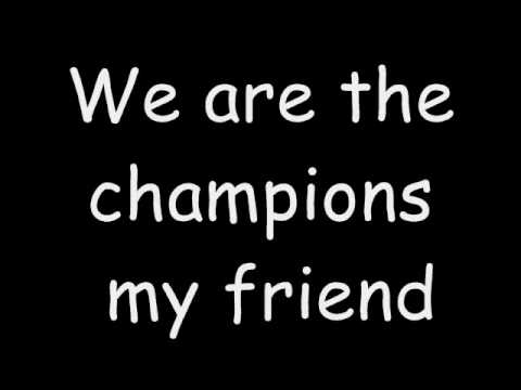 We are the Champions - YouTube