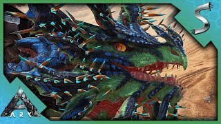 TRAPPING IT WAS THE ONLY WAY! VELONASAUR TAMING! - Ark: Extinction [DLC Gameplay E7]
