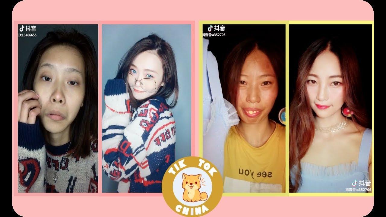 Magic Makeup transformation Tik tok China