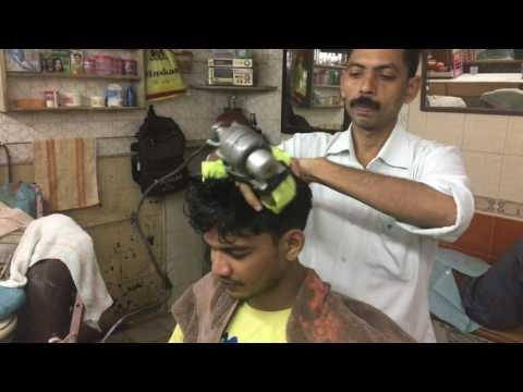 Navratna Oil Head Massage In Mumbai India Part-1  4K