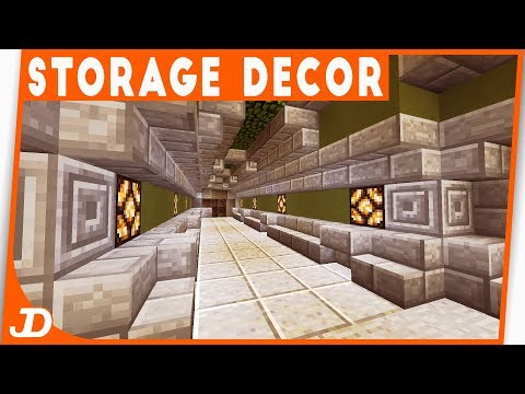 STORAGE DECOR | jDeV's World | Minecraft | 06