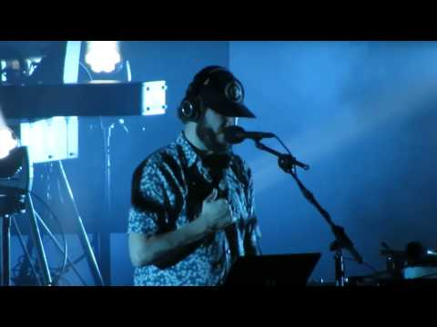 """Bon Iver - 33 """"GOD"""" - Live @ The Hollywood Bowl - 10-23-16 in HD"""