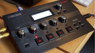 Boss GT-001 guitar effects and Audio Interface