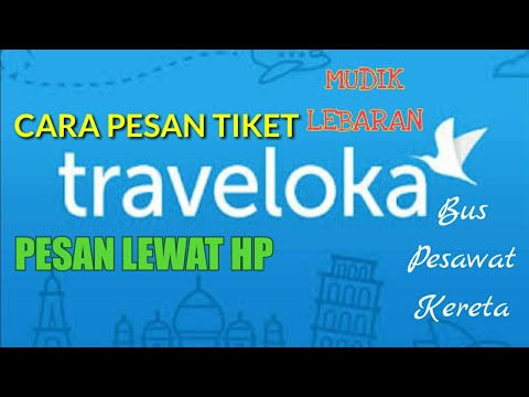 Cara pesan tiket bus Traveloka mudik lebaran 2019
