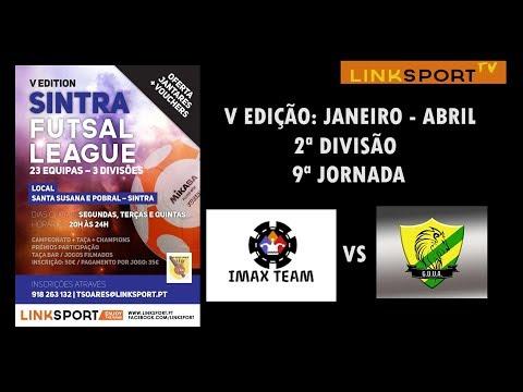 V Edição Sintra Futsal League 2ªDiv 9ªJorn Imax Team vs Assafora 5-6