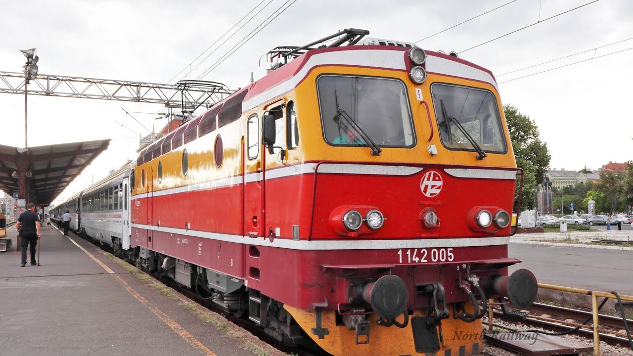 Hz 1142 Ec 211 Sava For Vinkovci Zagreb Glavni Kolodvor Youtube