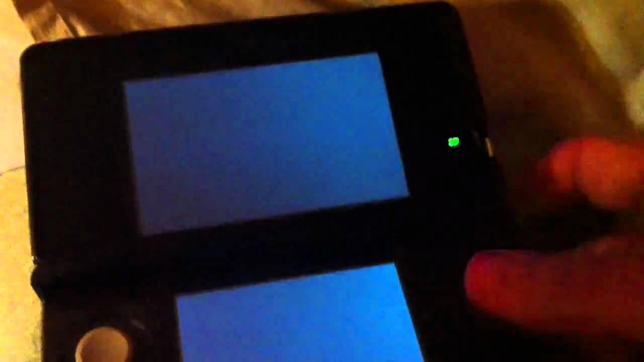 Nintendo 3ds Black Screen Of Death Youtube