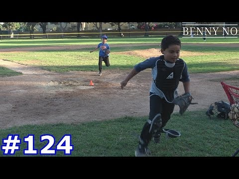 CAN LUMPY THROW OUT THE RUNNER STEALING HOME? | BENNY NO | VLOG #124