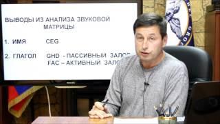 видео Смысловая (семантическая) структура слова