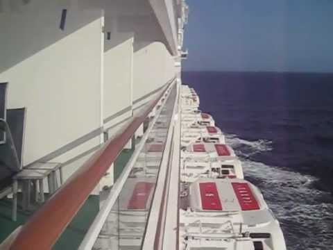 Cruising 20 Knots On The Norwegian Epic Deck 10 Youtube
