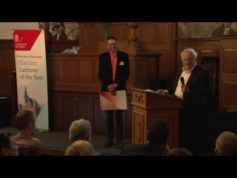 University of Groningen Lecturer of the Year 2015: Niels Taatgen