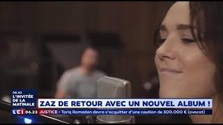 """""""Effet Miroir"""" Nouvel album de Zaz (La Matinale LCI)"""