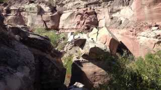 Slot canyon in Palo Duro Canyon 6