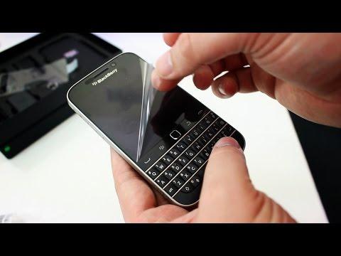 BlackBerry Classic unboxing
