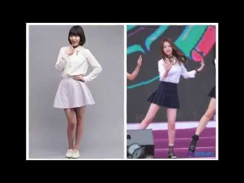 [Kpop Op-Ed] Girl Group Diets: Before & After: What is beautiful?