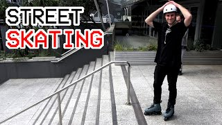Street Skating is MUCH Harder Than it Looks // E-Fise Roller Street Finals B-Roll