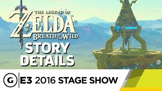 The Story in The Legend of Zelda: Breath of the Wild- E3 2016 Stage Show