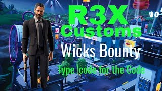 Fortnite Wicks Bounty Customs || NA East || Public code || Controller on PC ||
